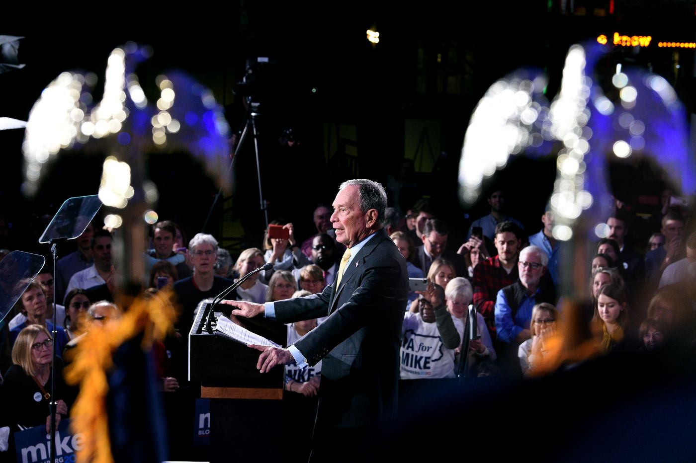 Mike Bloomberg is getting a serious look from suburban Democrats who just want to beat Trump