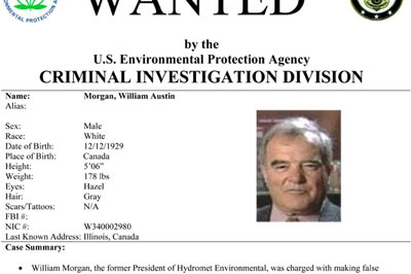 EPA hunts down eco-fugitives