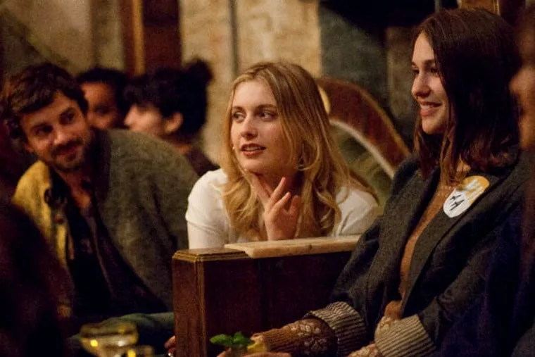"""First, we take Manhattan: Greta Gerwig (left) and Lola Kirke out on the town in """"Mistress America."""" (Photo:  Fox Searchlight Pictures)"""