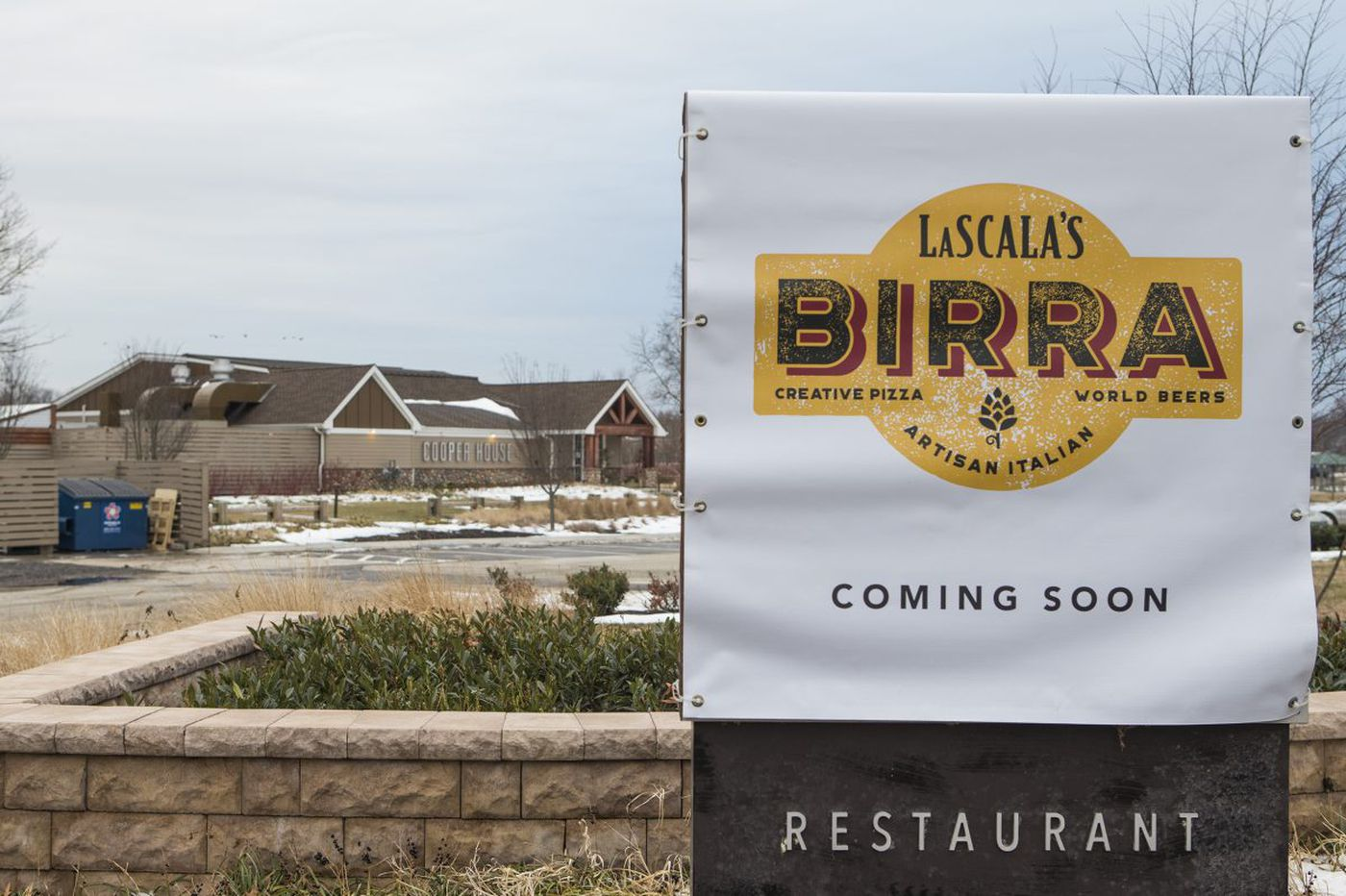 LaScala Restaurant opening soon at Cooper River Park