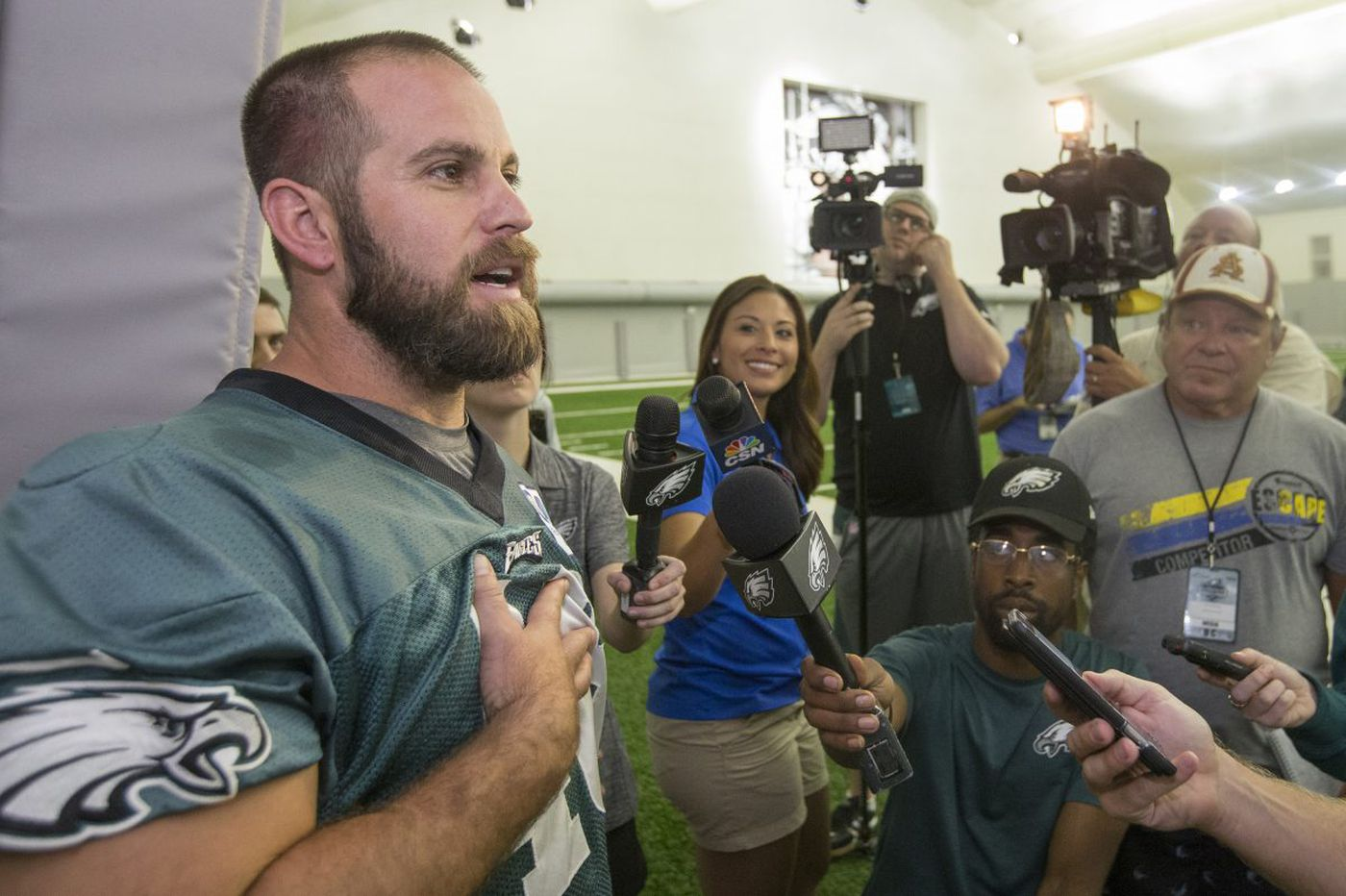 Movie based on Jon Dorenbos' life coming quicker thanks to Eagles' Super Bowl victory