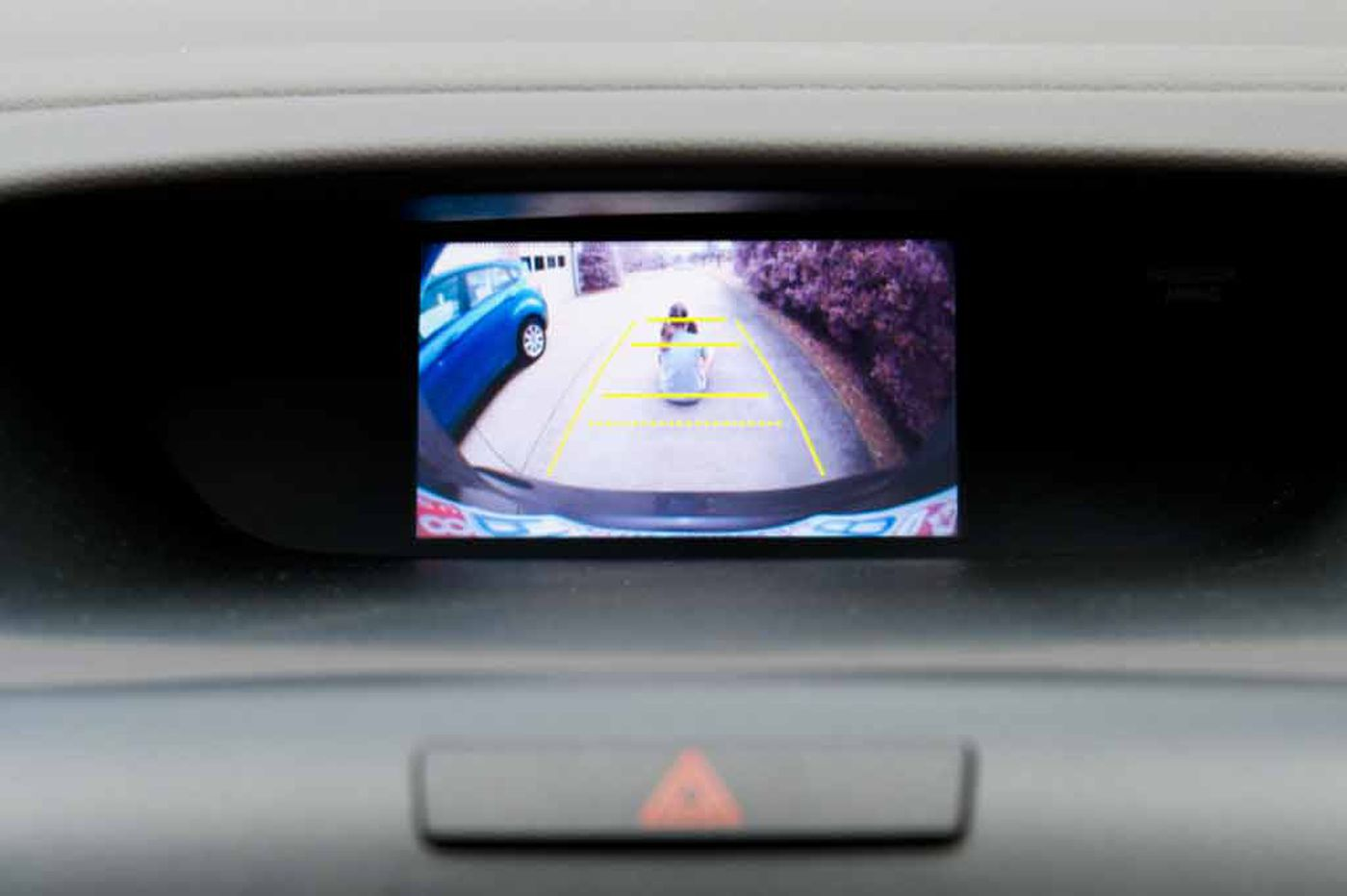 No back-up camera on your car? Add one