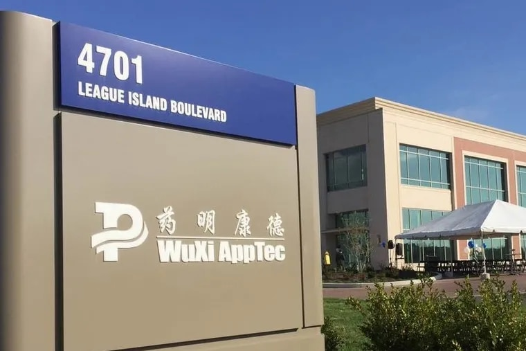 WuXi AppTec at the Navy Yard in South Philadelphia.