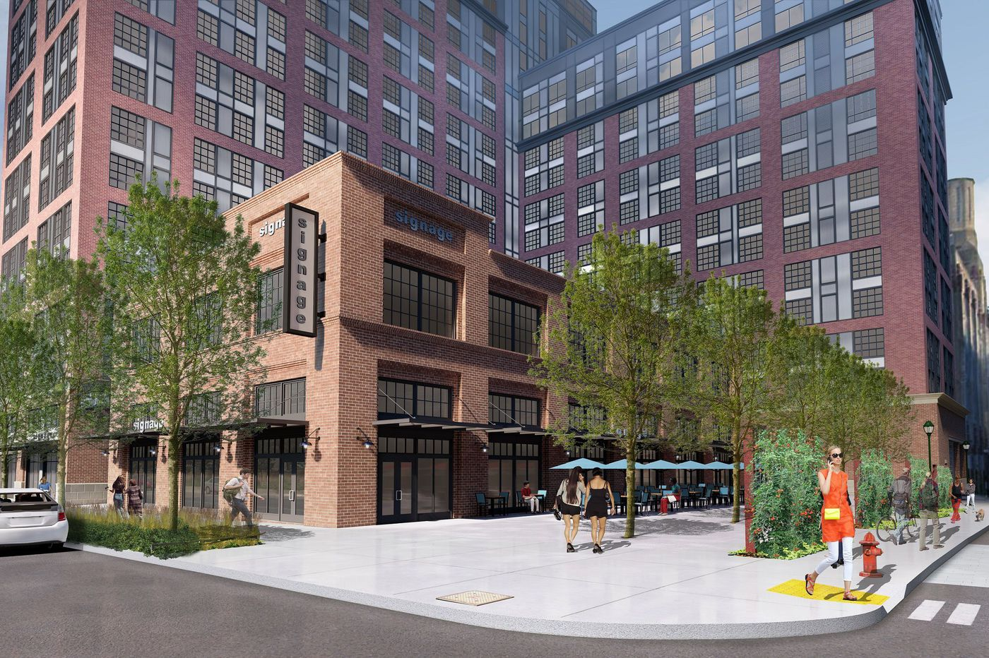 A revitalizing North Broad Street girds for surge of apartments with two major projects planned
