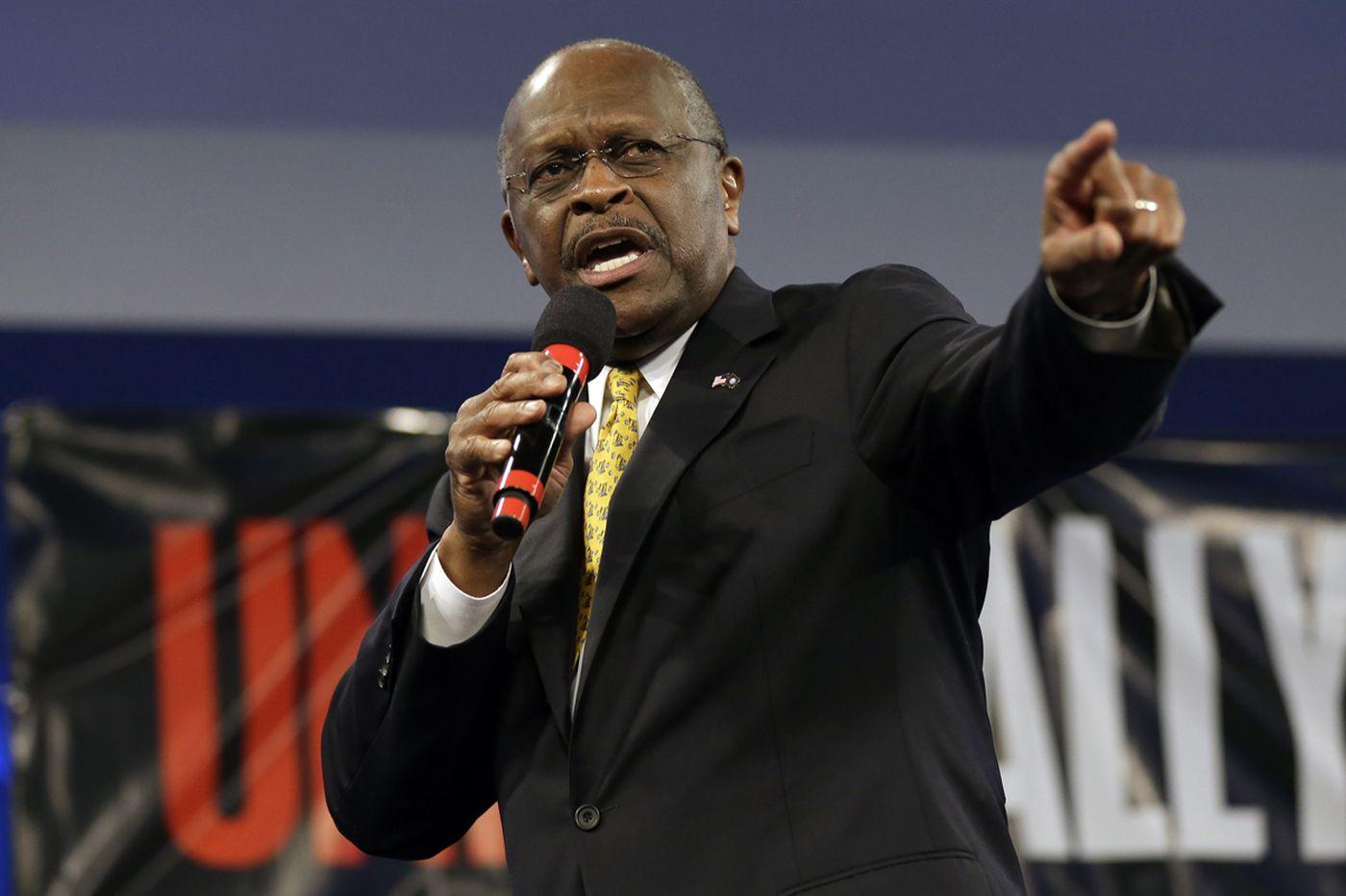 Herman Cain: Trump GOP opponent Joe Walsh, conservative ...  |Herman Cain