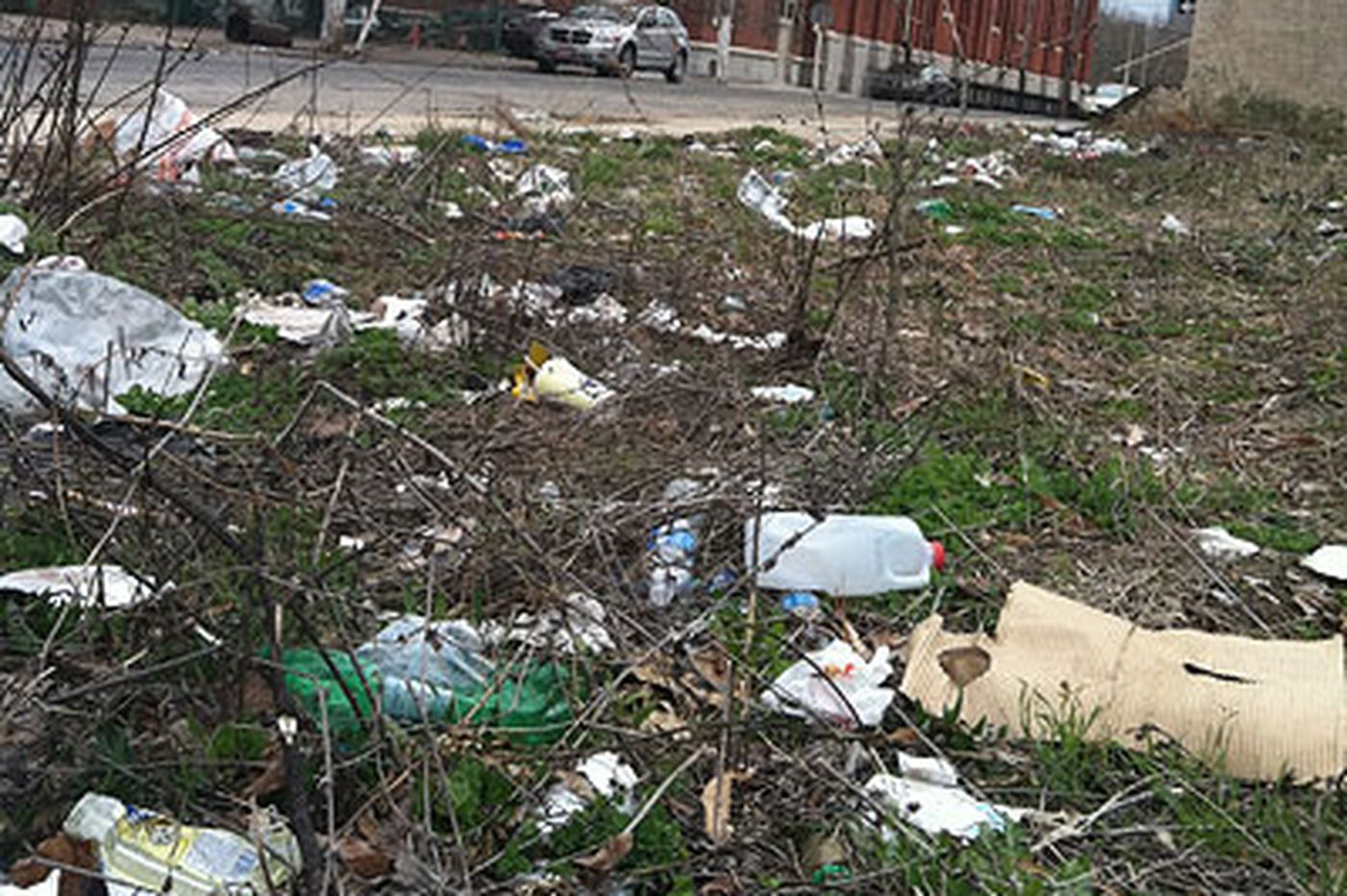 Litterally speaking, Philly's in a world of dirt