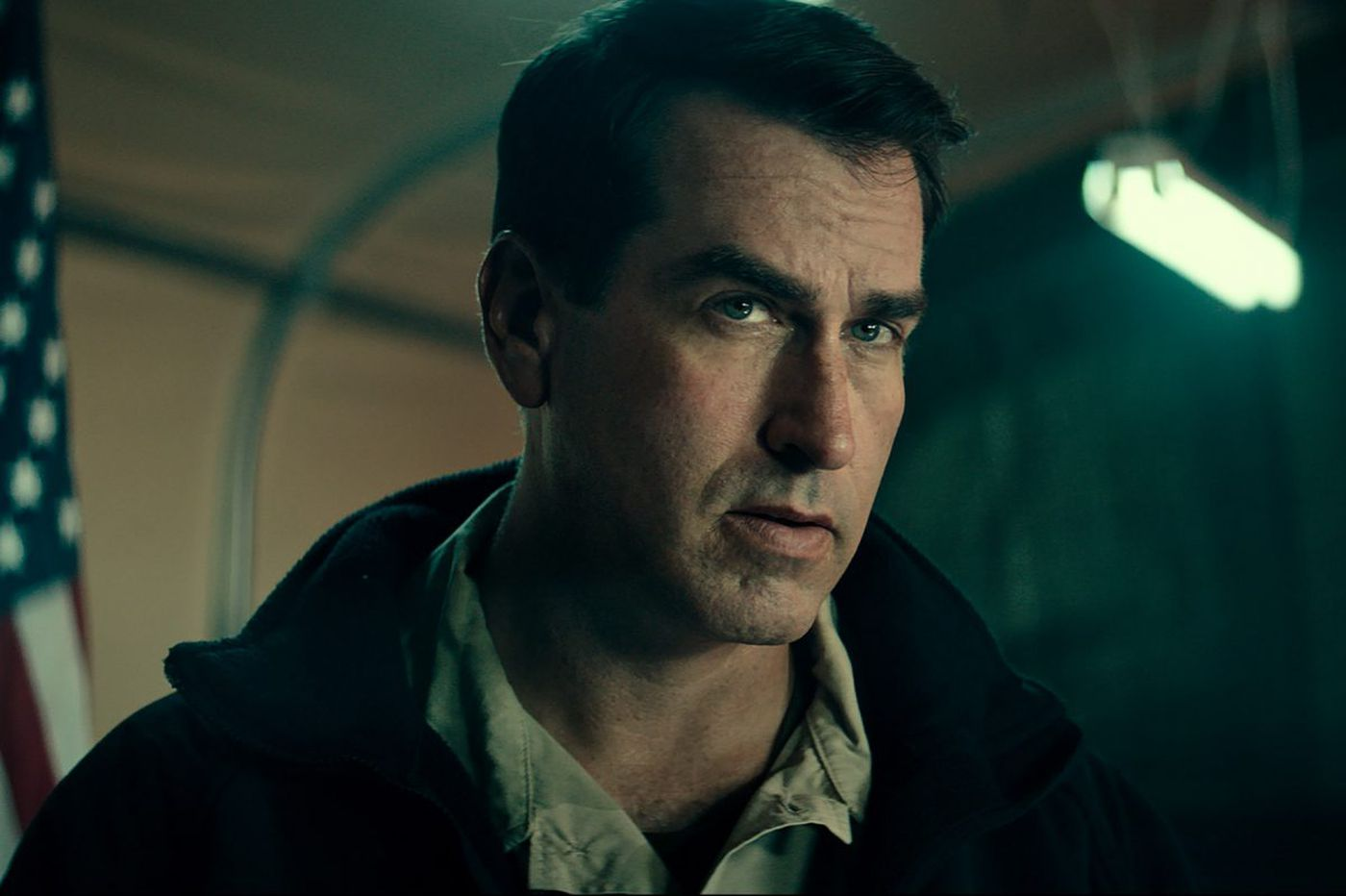 What does '12 Strong' actor Rob Riggle know about the war in Afghanistan? A lot. He was one of the first guys there.