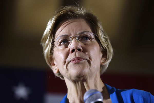 Elizabeth Warren ripped Joe Biden's big Philly fund-raiser. Last year, she did an event with some of the same rich donors.