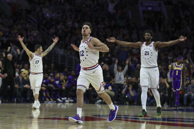 Sixers 143, Lakers 120