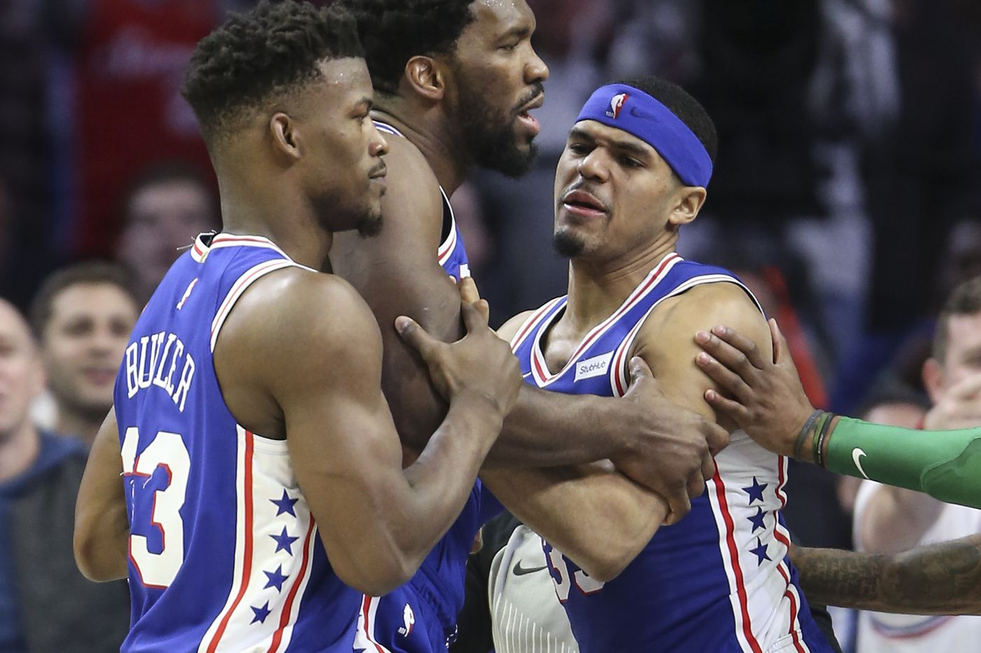 Sixers' Joel Embiid Reacts To Mid-Game Spat With Celtics' Marcus Smart