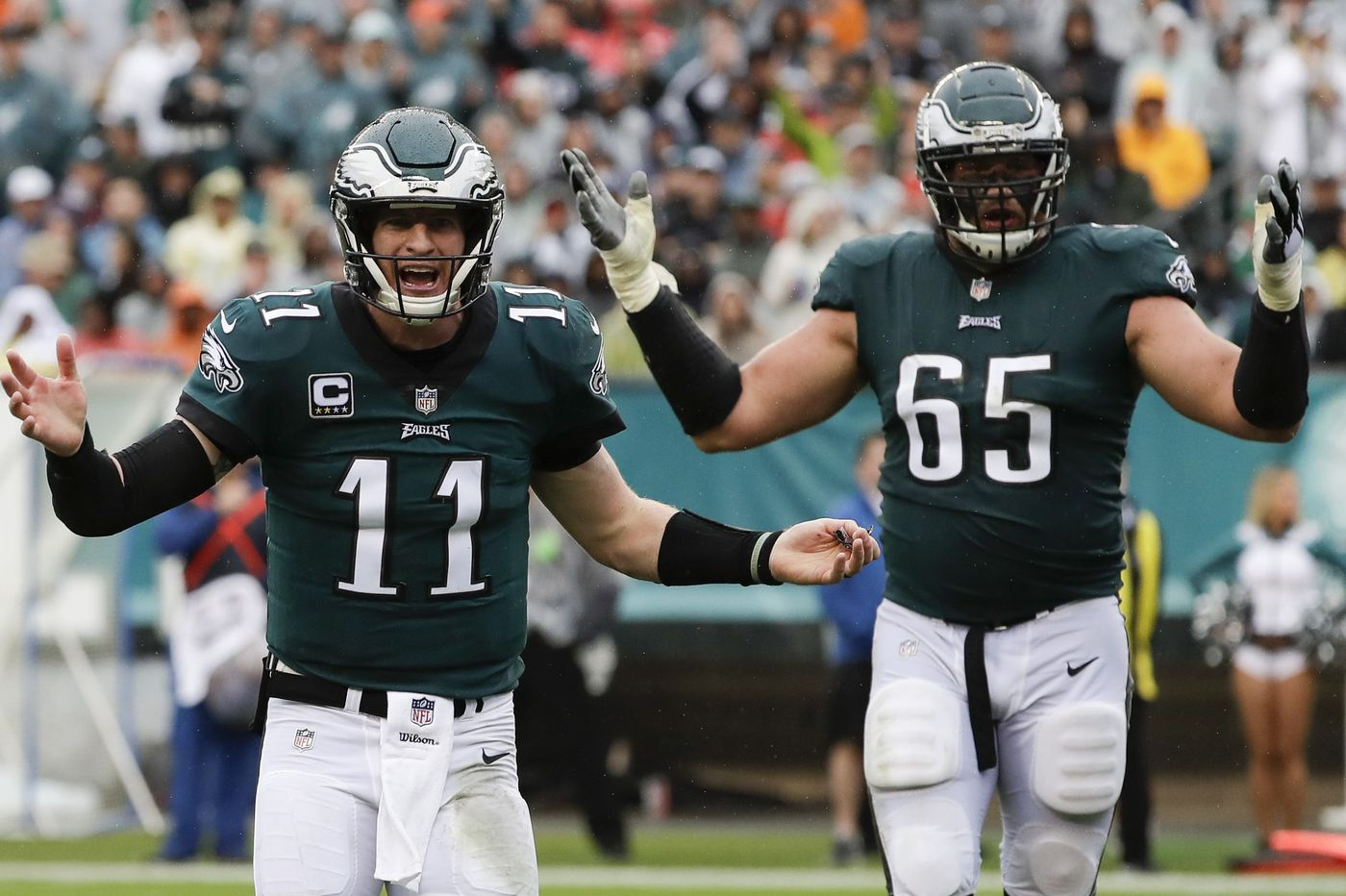 Carson Wentz, Fletcher Cox, Lane Johnson see larger leadership roles with exodus of veteran Eagles | Marcus Hayes