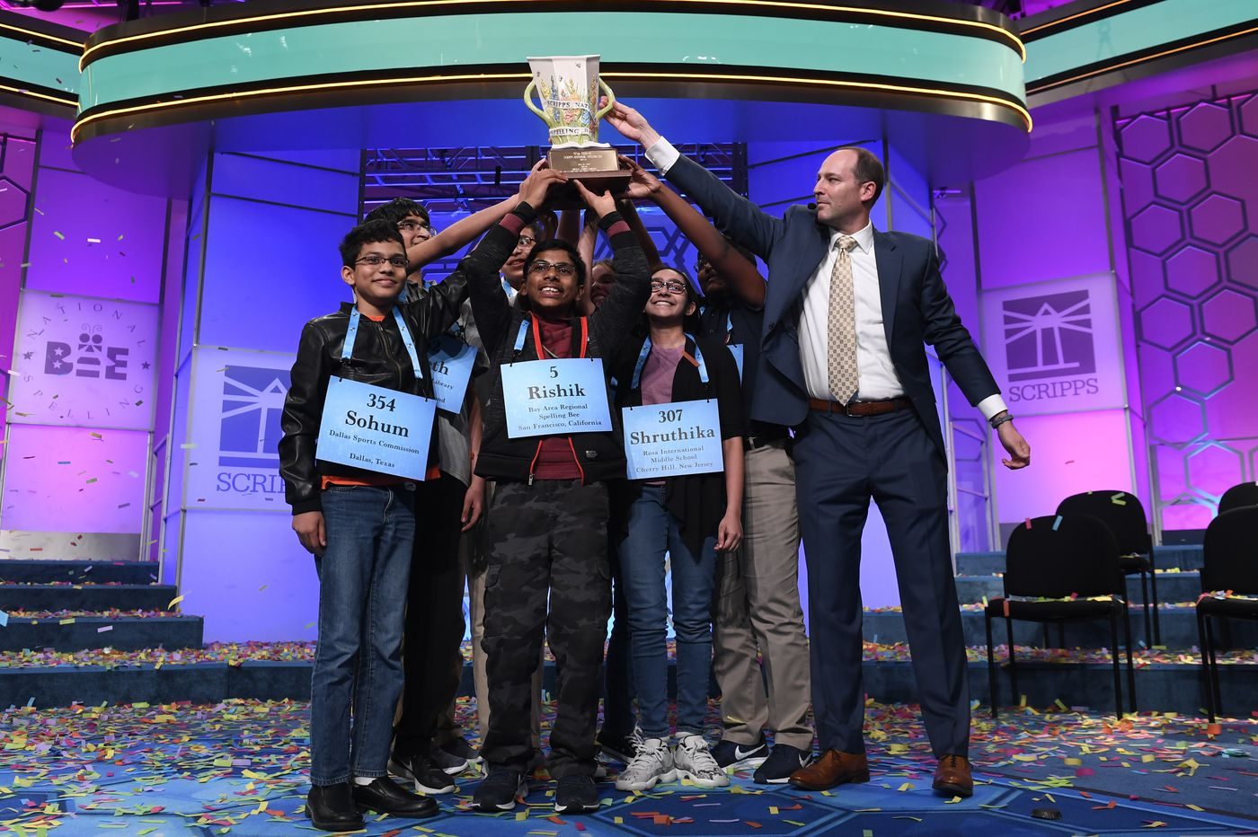 Shruthika Padhy, Cherry Hill middle schooler, talks historic win at Scripps National Spelling Bee