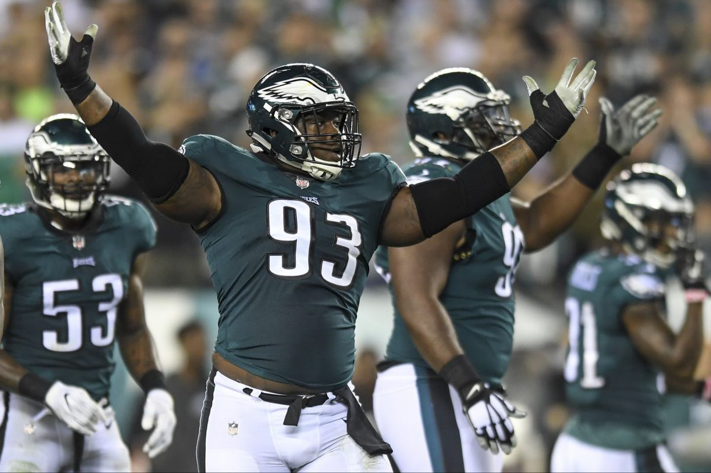 Eagles DT Tim Jernigan reportedly has surgery on herniated disk