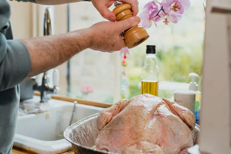 Many conscientious cooks rinse raw poultry in the sink before seasoning and roasting, but this step only raises food-poisoning risks, experts say.