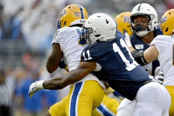 Fourth-quarter defense leads Penn State to a 17-10 victory over archrival Pittsburgh in 100th meeting