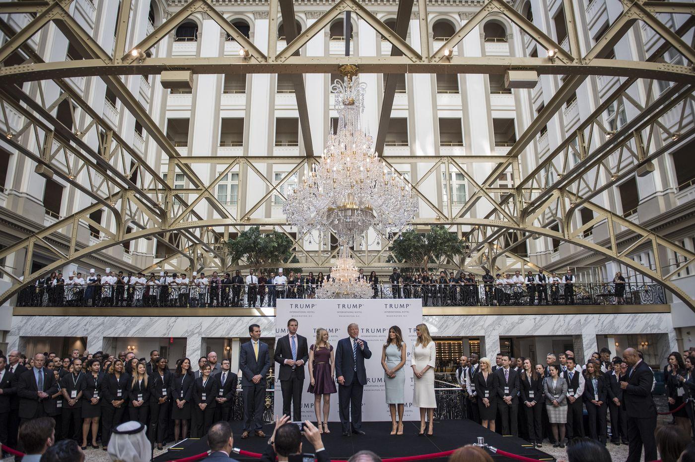 Attorneys general issue subpoenas to Trump entities in Washington, D.C., hotel case