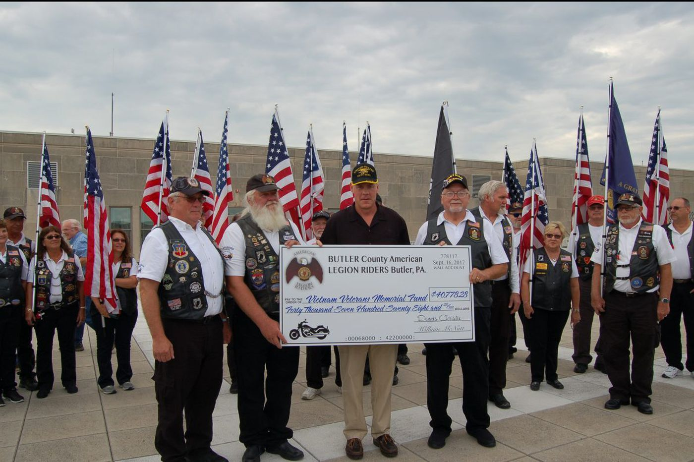 Recognizing the Pa. veterans who just donated $40K to Vietnam War Memorial | Secretary Ryan Zinke