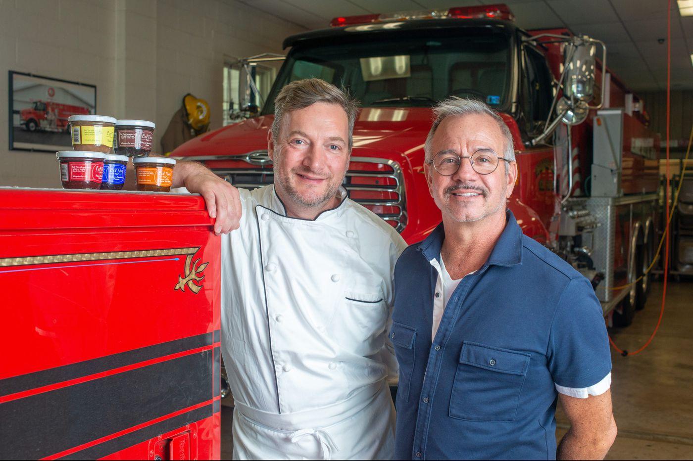 Bucks County firehouse enjoying fruits of jam company's labor