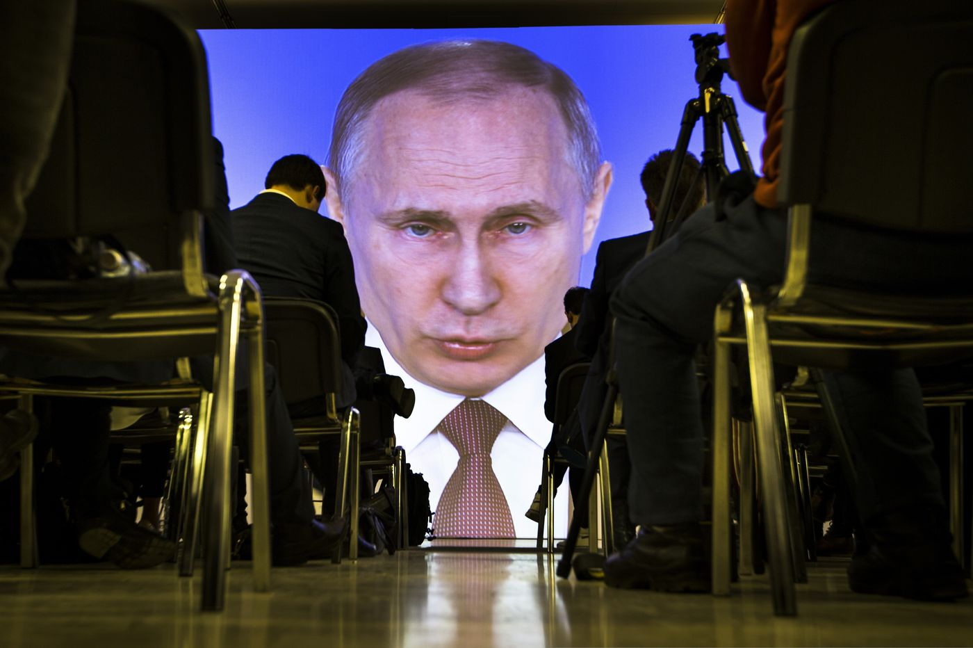 Putin scores some wins but tensions with the West mount