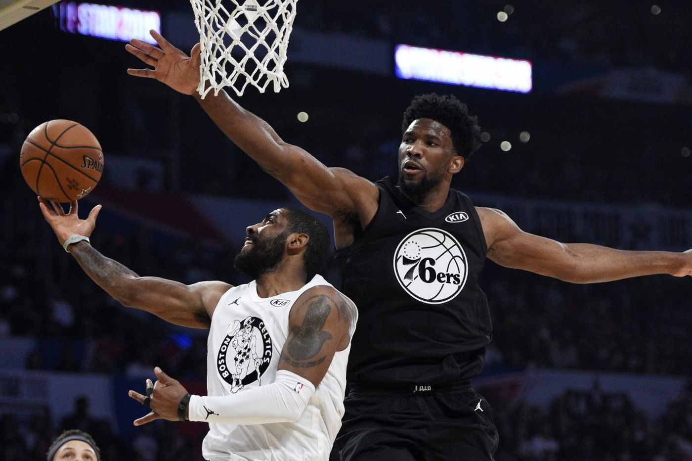 Sixers' Joel Embiid makes most of all-star appearance