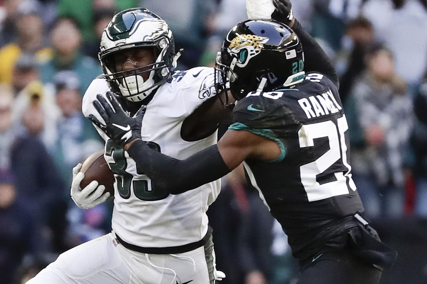 Grading the Eagles: Running backs get an A- in win over Jaguars | Paul Domowitch