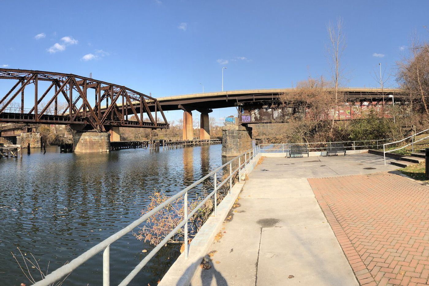 $14 million structural and biking upgrades to Grays Ferry Bridge should be finished in the spring