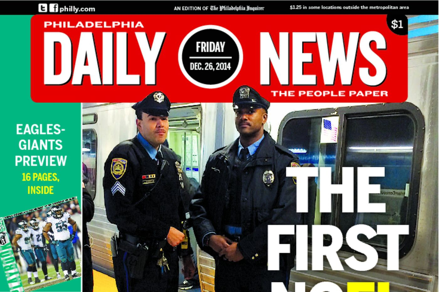 Dailynews Monthly Covers 12/26/14