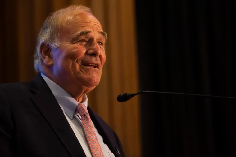 Former Gov. Ed Rendell in June. Rendell says former Vice President Joe Biden's campaign is in good shape, despite some mediocre debate performances and other stumbles.