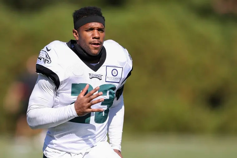 Safety Rodney McLeod has one of the Eagles' league-low three interceptions this season.