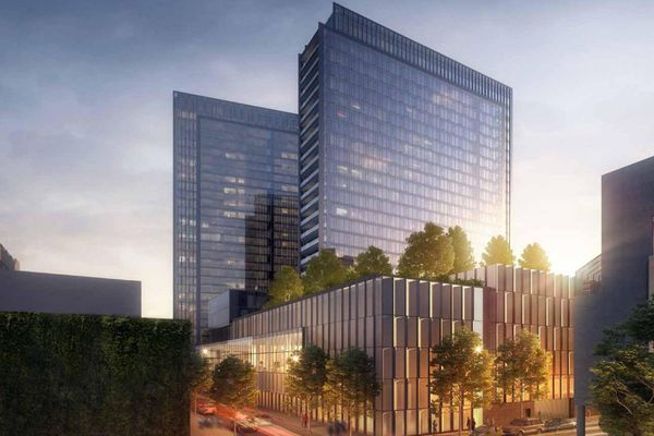 A wall of parking garages on the Schuylkill waterfront? In 2017, we know better