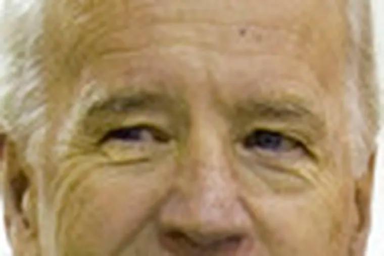 Sen. Joe Biden wants destruction probed.