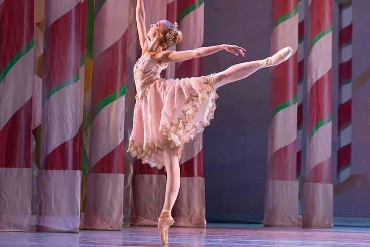 """Pennsylvania Ballet Principal Dancer Sara Michelle Murawski as the Sugar Plum Fairy  in """"George Balanchine's The Nutcracker."""" She has been cut from the company's roster for the upcoming season because she's too tall."""
