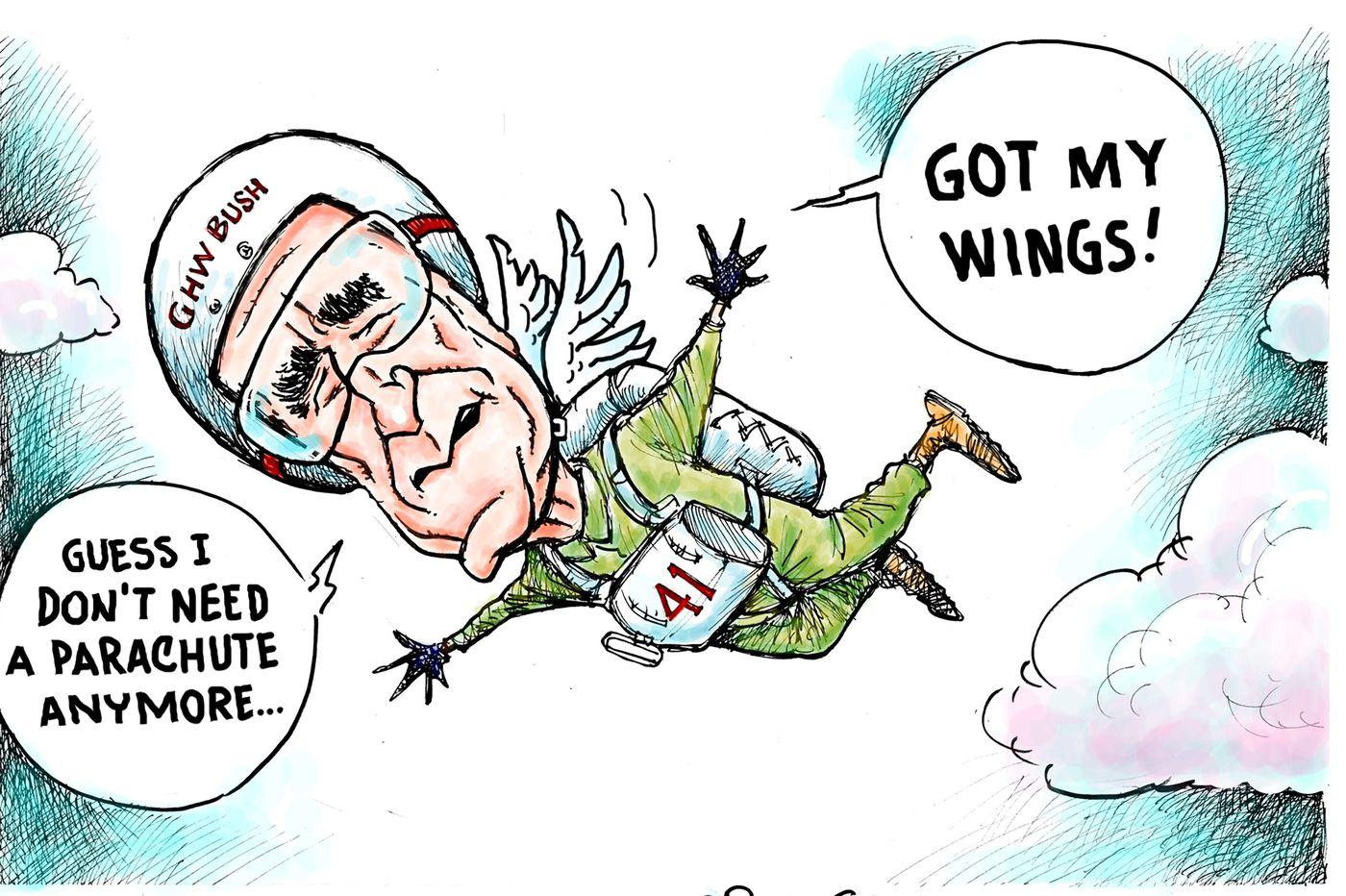 10 cartoons honoring George H.W. Bush's memory | Opinion