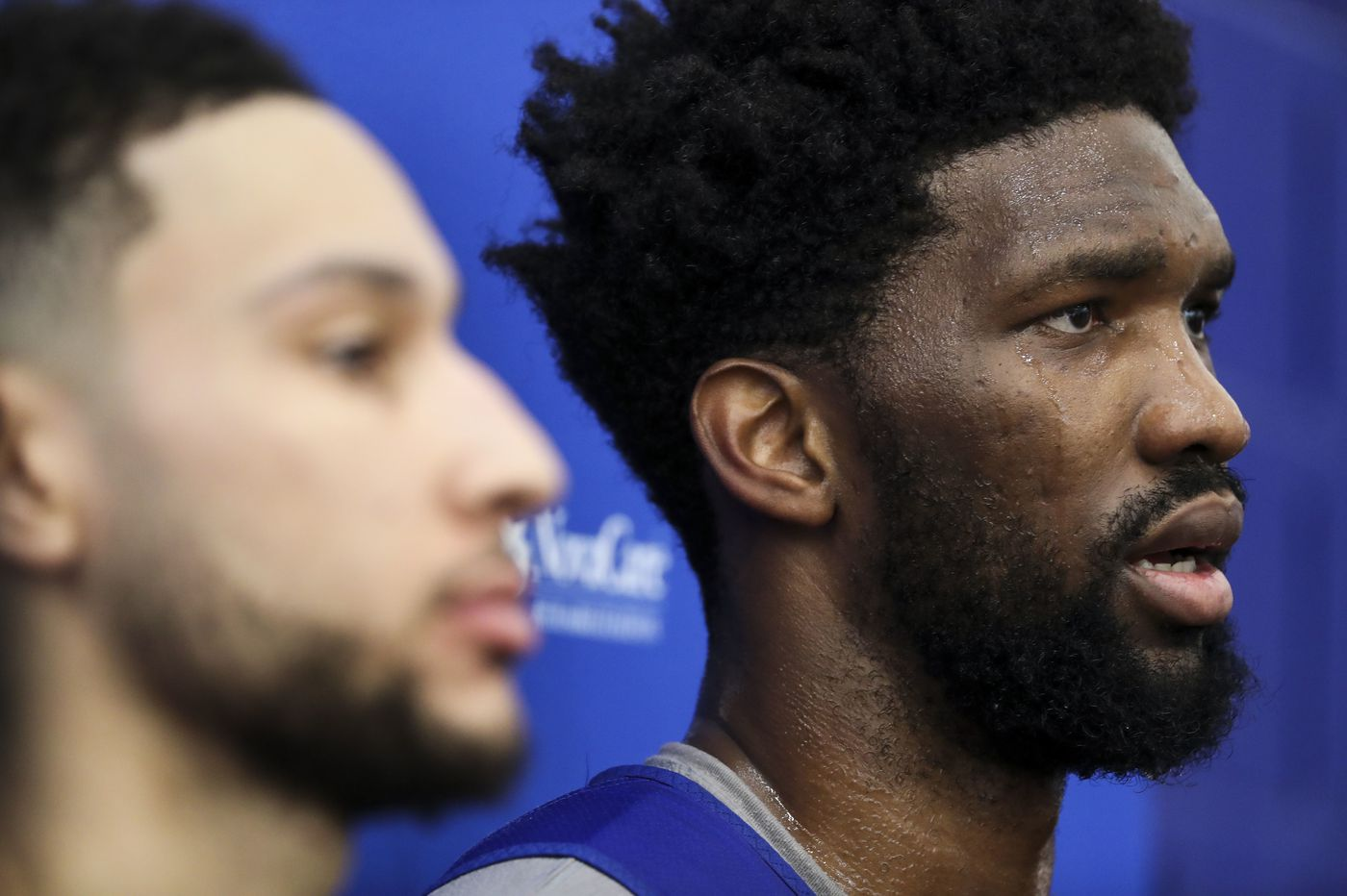 Joel Embiid and Ben Simmons are still the Sixers' nucleus, and team's new president wants it that way