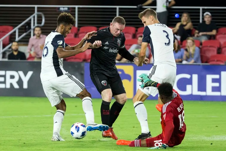 The first-place Union visit Wayne Rooney and D.C. United this weekend.