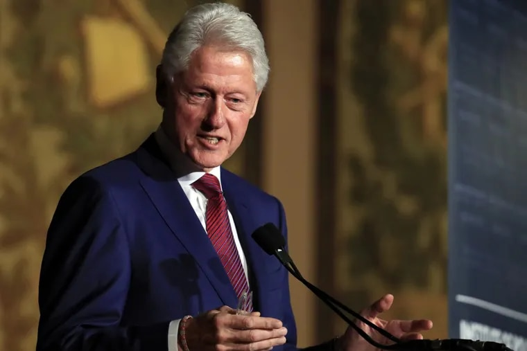 Yes, the Democratic party is filled with sexual harassers. Many readers wondered why the author didn't mention Bill Clinton  in a list of prominent men either outed or punished in for similar behavior.