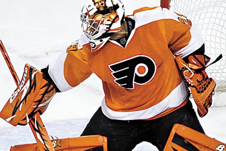 The Flyers have not yet figured out how to approach Ray Emery's injury. (Matt Slocum/AP file photo)