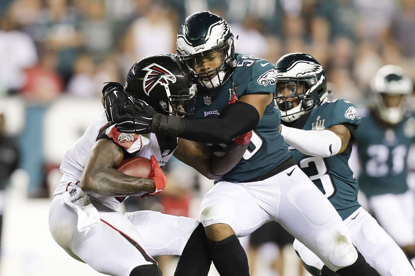 Eagles defense will try to cool off Tampa Bay's offense after 'eye-opening' performance