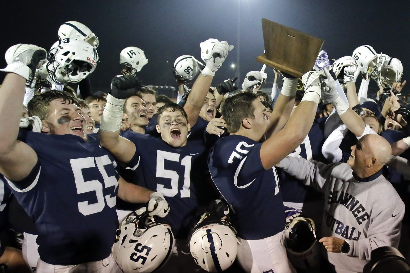 Surprising Shawnee advances to S.J. Group 4 football title game
