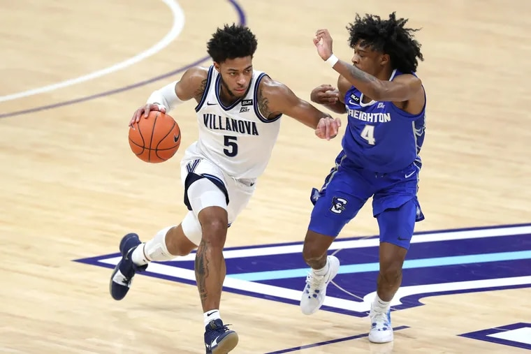 Justin Moore and Villanova will have to carry on without Collin Gillespie, the team's second-leading scorer and leader in assists.