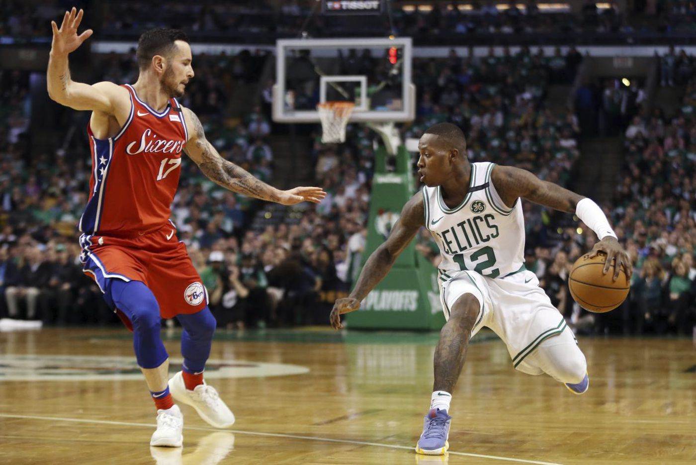 Celtics expose Sixers' defensive limitations in Game 1