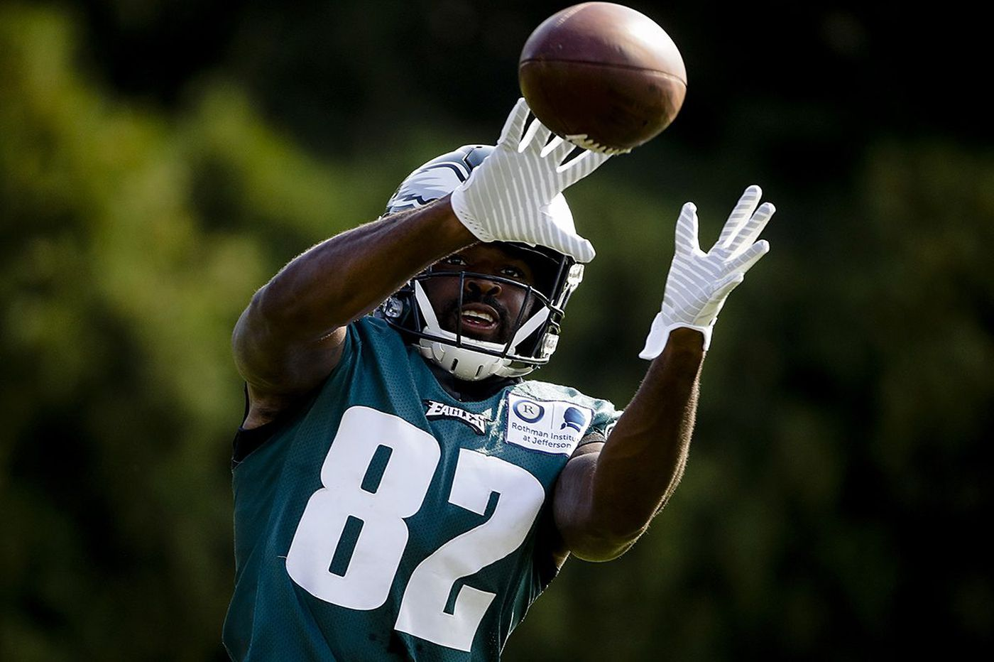Gimpy Torrey Smith sparks speculation, but Eagles wideout says he's OK