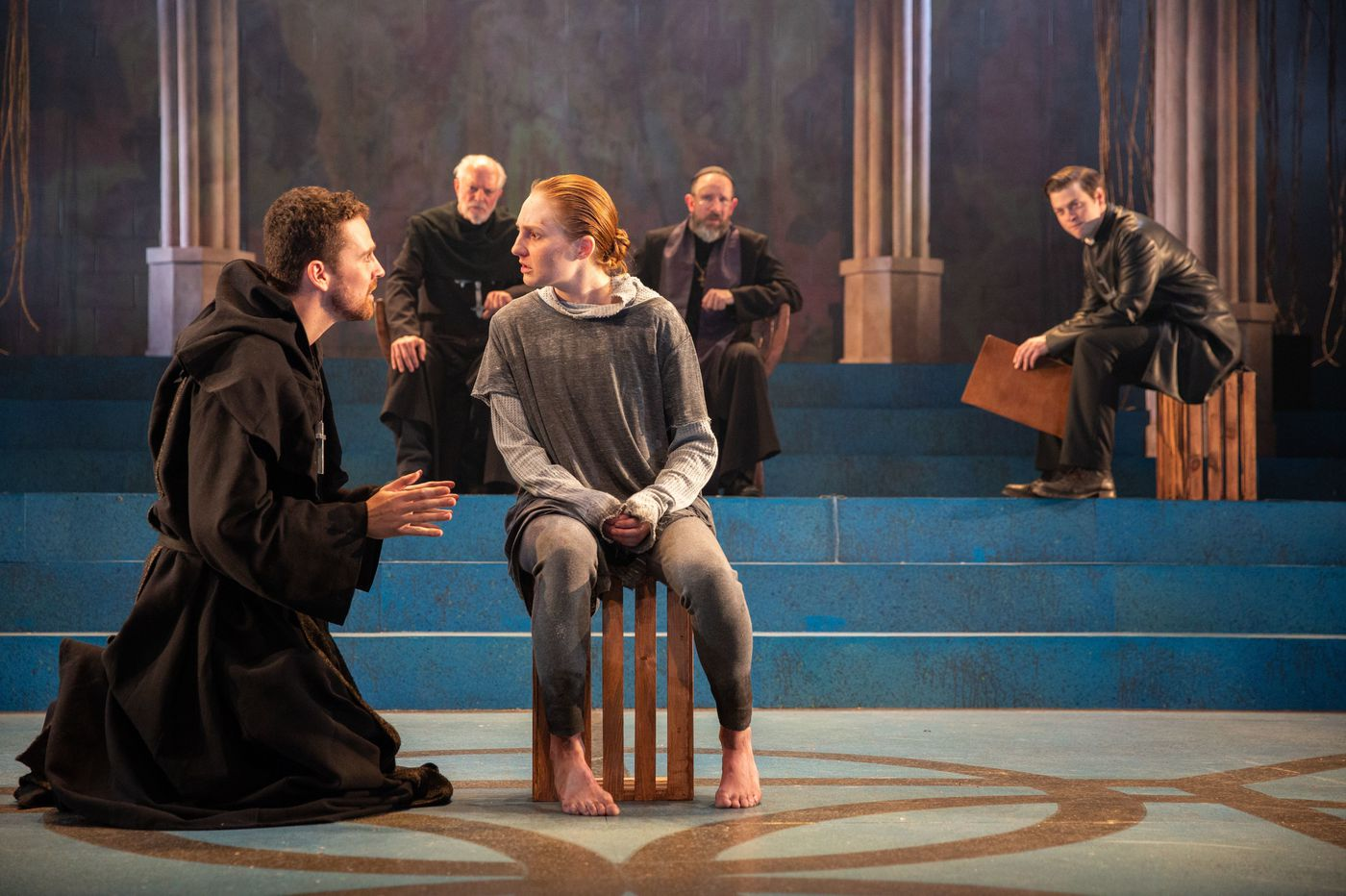 In Delaware Theatre Company's streamlined 'St. Joan,' the heroine's voices take center stage