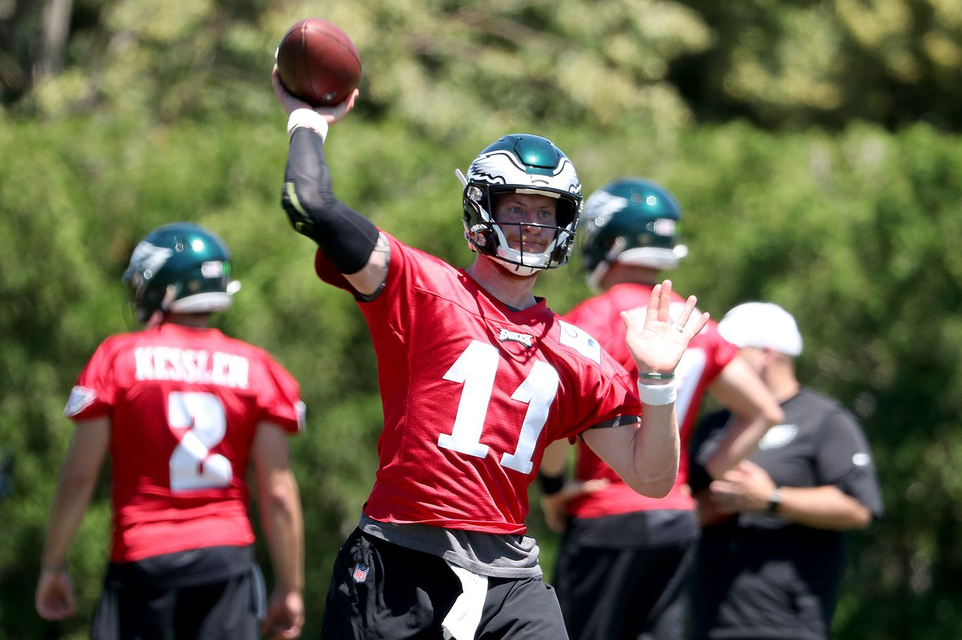 Carson Wentz's contract; Malcolm Jenkins reports to mandatory minicamp; Joe Douglas starts with Jets | Early Birds