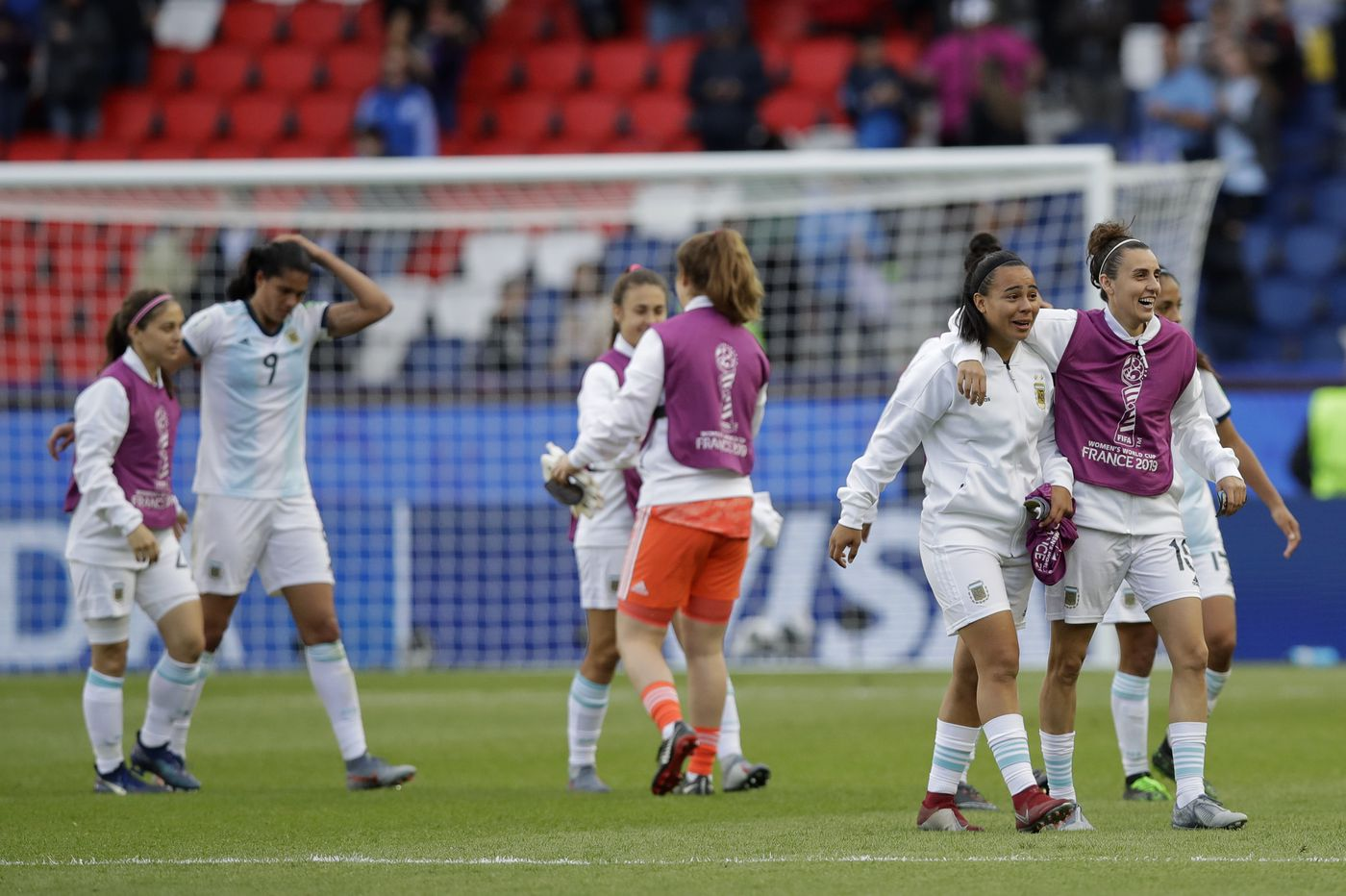 Argentina soaring after historic Women's World Cup opener, eager for England