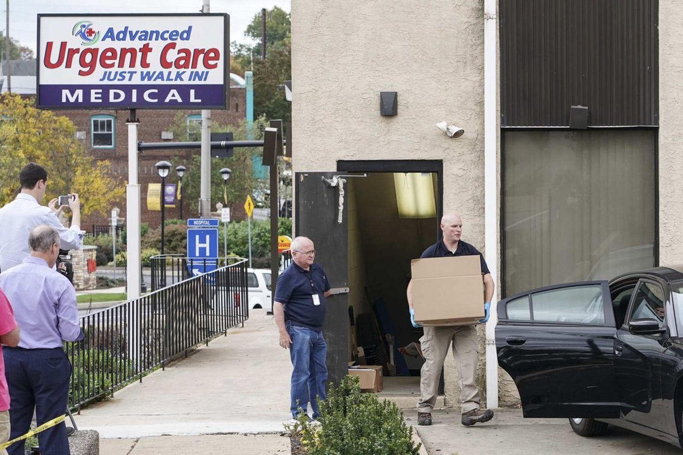 Feds raid Philly-area Advance Urgent Care centers