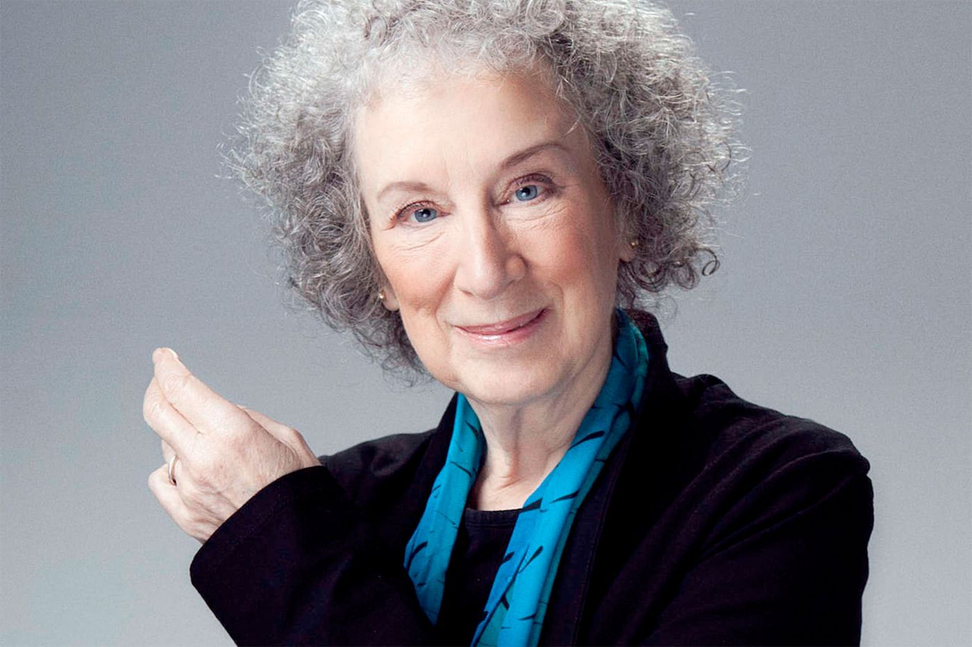 Q&A: Margaret Atwood talks about writing, editing, the future, Elvis robots, and Mae West