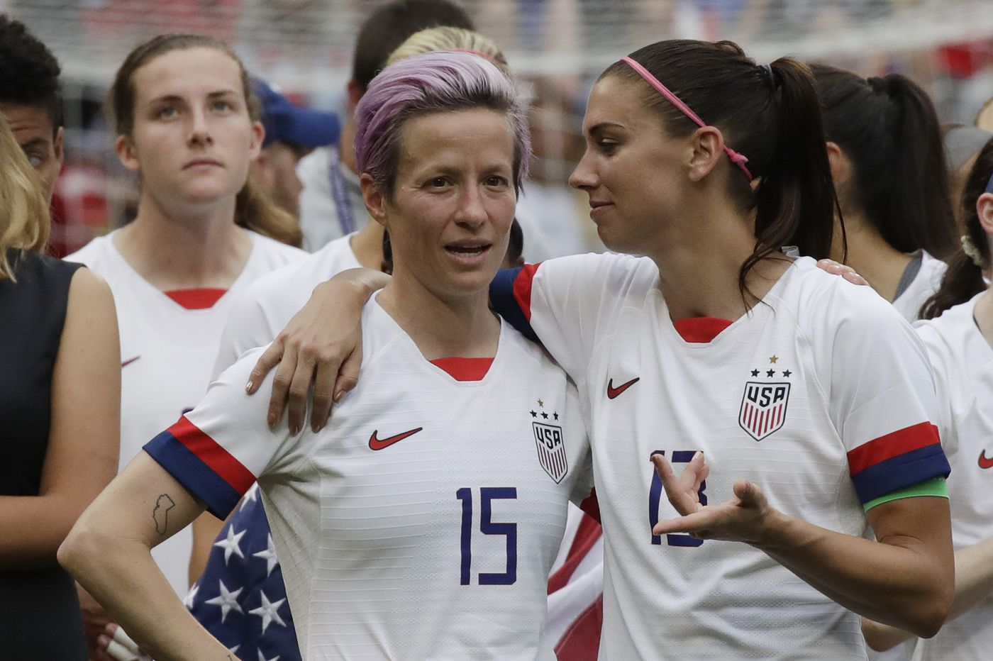 U.S. women's soccer players ask for equal pay lawsuit appeal, trial delay