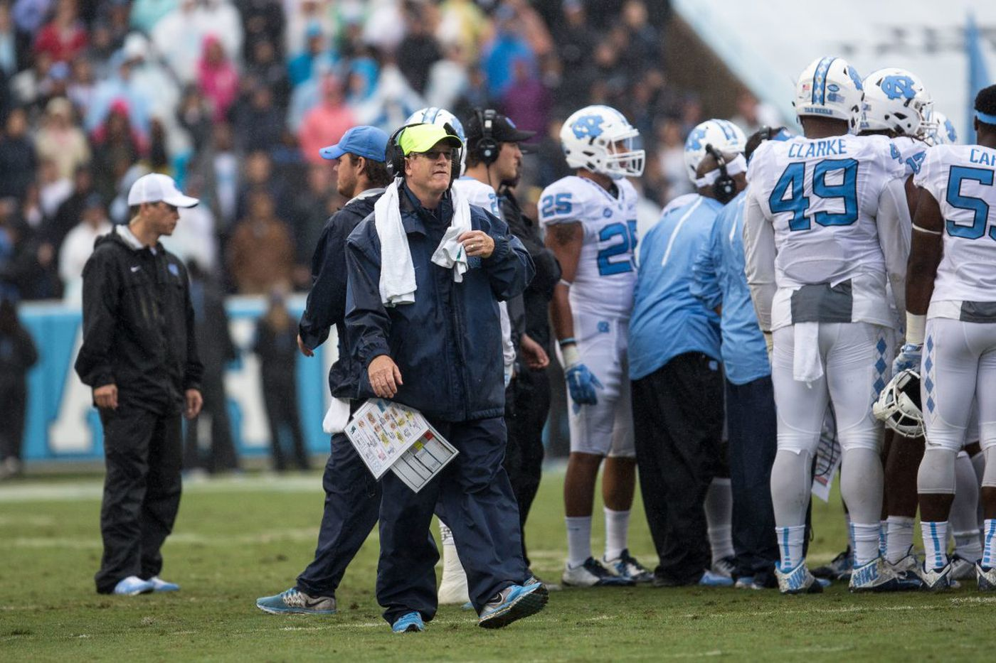 Source: Eagles to hire North Carolina's Gunter Brewer as wide receivers coach