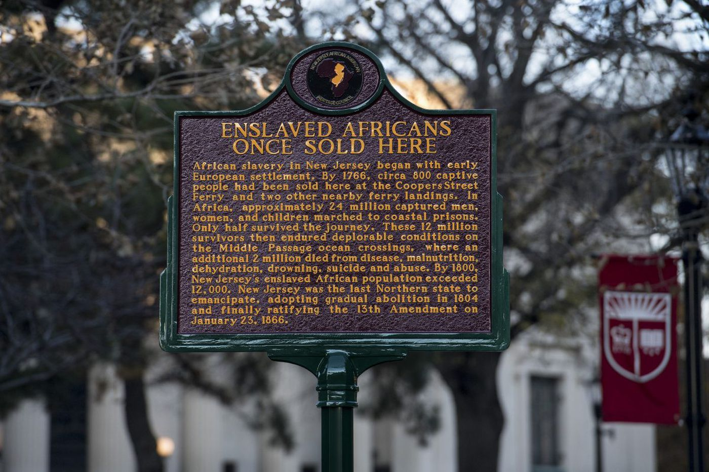 Remembering Camden's ties to slavery with new historical markers